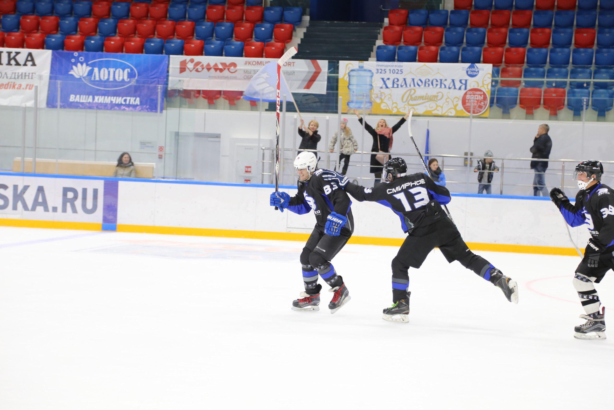 набор в хоккейную команду